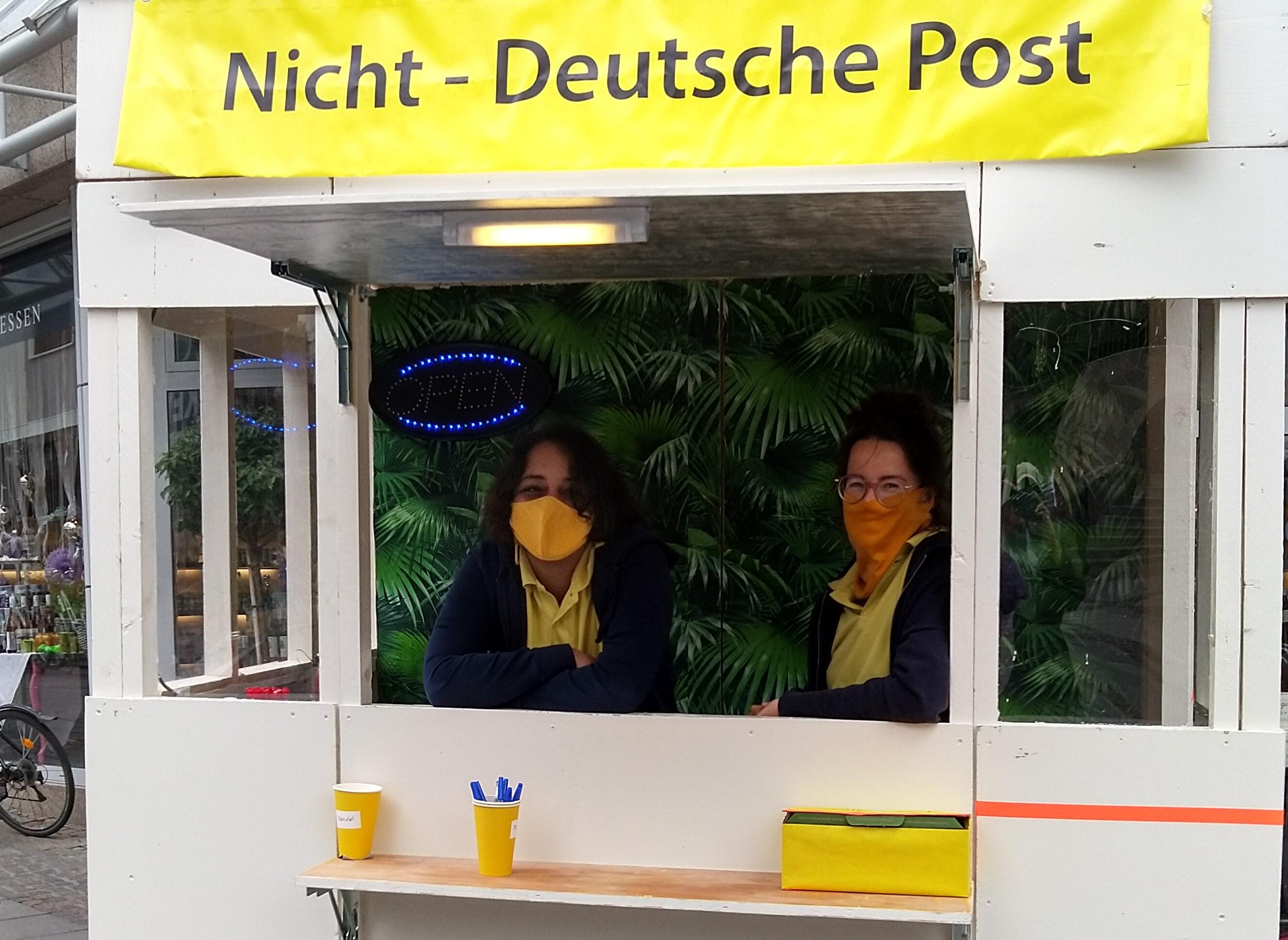 Nicht-Deutsche Post